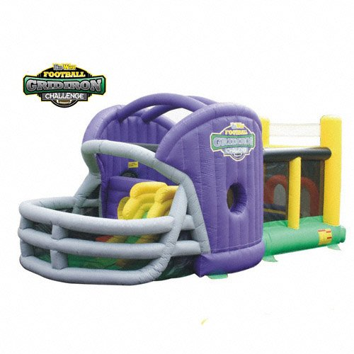 New KIDWISE Gridiron Football Challenge Gameday Commercial Grade Bounce House - Purple