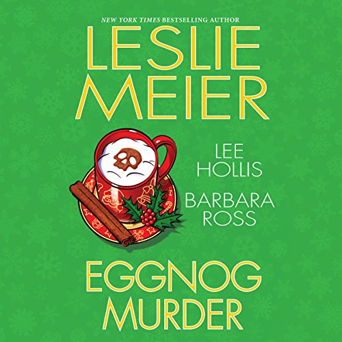 Eggnog Murder audiobook cover art