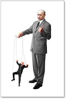 CafePress - Putin Pulls The Strings - Postcards (Package of 8), 6