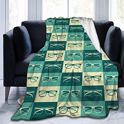 Nazi Mie Brillen Ultra Soft Micro Fleece-Decke für Couch Bed Sofa Cinema Travel