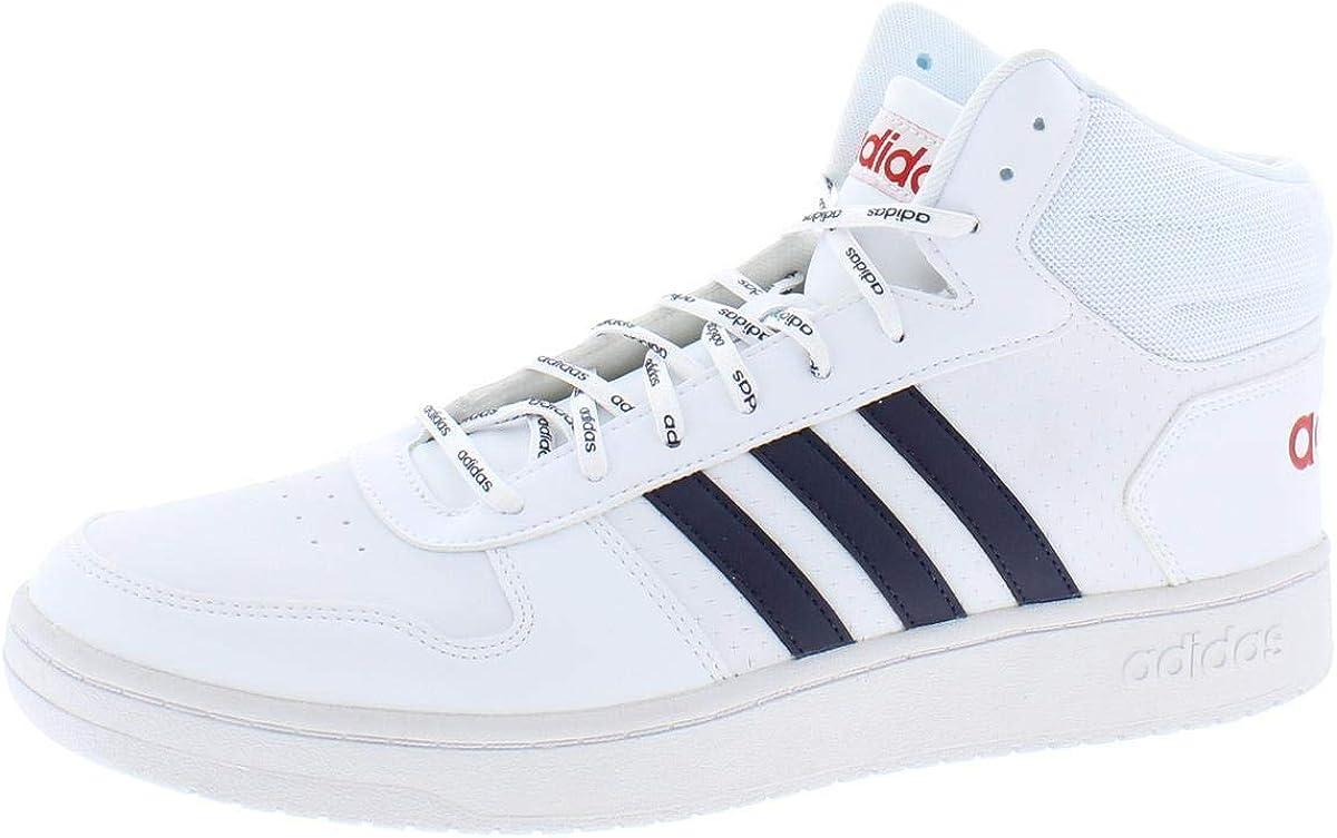 adidas Men's Hoops 2.0 Mid Basketball Shoe