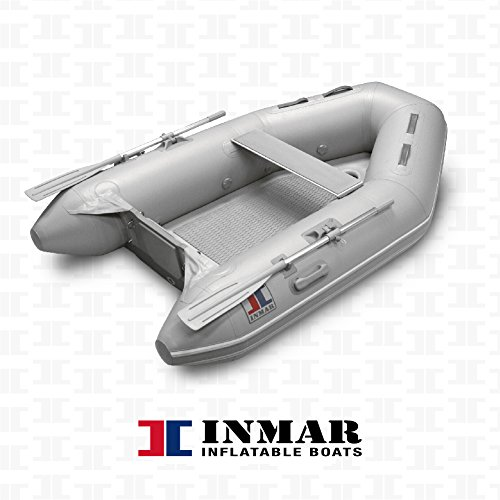"Learn More About INMAR 8'0"" Dinghy Tender Inflatable Boat - 240H-TS - 3 Passenger Grey Boat Infl..."