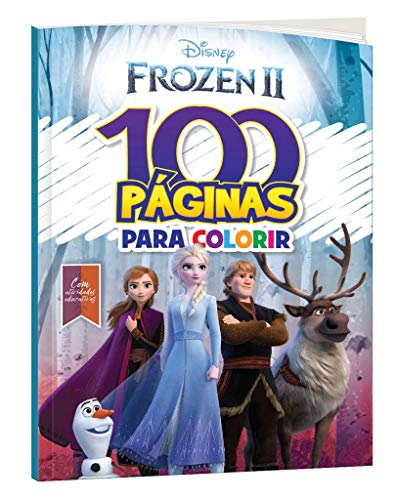 Disney 100 Paginas Para Colorir Frozen 2