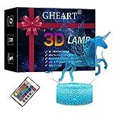 3D Einhorn Lampe Nachtlicht...