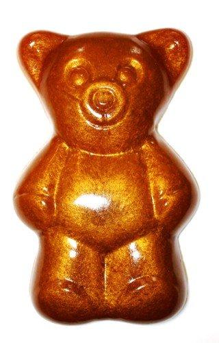 Gummibär extra Groß 28cm 2 kg Fruchtgummi Farbe GOLD metallic