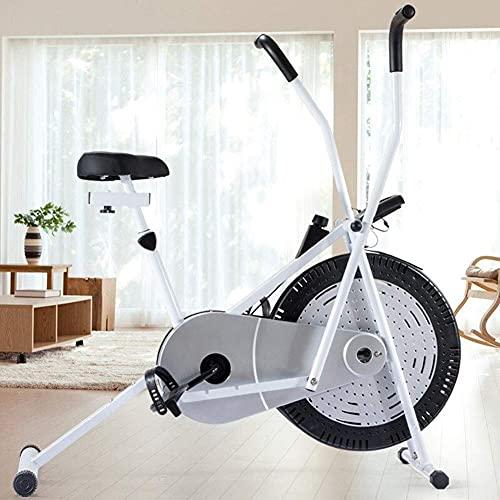 CDPC Bicicleta estática reclinada Plegable magnética de Fitness con Resistencia Ajustable para Uso doméstico
