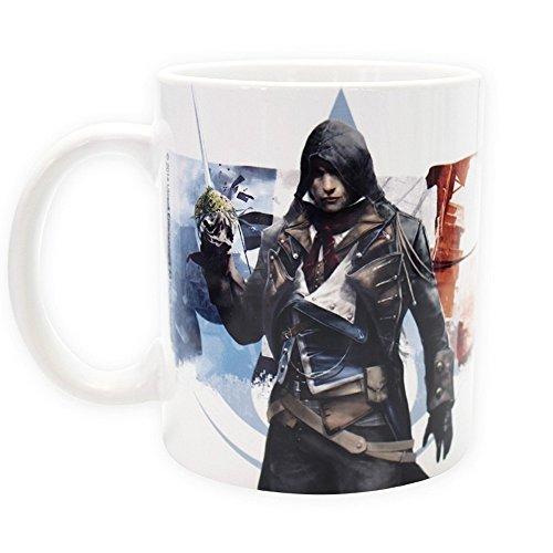 Assassins Creed - Keramik Tasse 320ml - Unity - Arno - toll und stabil verpackt in einer Geschenkbox!