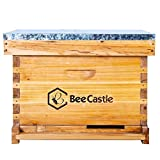 8-Frame Fully Assembled Bee Hives for Sale Complete Beehive Starter Kit for Beekeepers