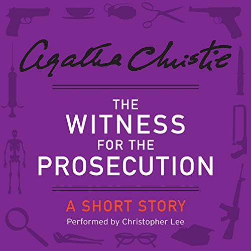 The Witness for the Prosecution audiobook cover art