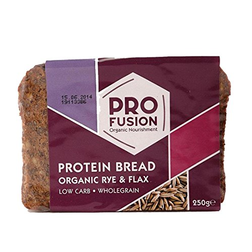 Profusion | Protein Bread - Rye / Flax | 5 x 250g