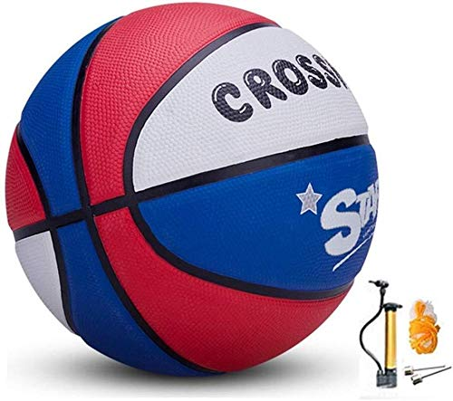 Find Bargain ZHOU.D.1 Basketball- Children's Rubber Wear-Resistant Basketball NO.4-5-6-7 Indoor and ...