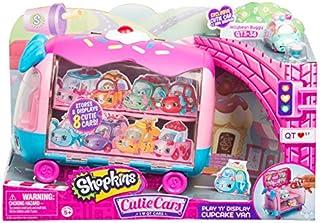Shopkins Cutie Cars   Play 'n' Display Cupcake Van with Exclusive Cutie Car Mini