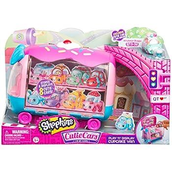 Shopkins Cutie Cars Play 'n' Display Cupcak | Shopkin.Toys - Image 1