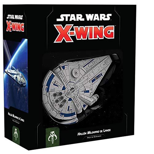 Fantasy Flight Games- SW X-Wing 2.0 - Halcón Milenario de Lando -...