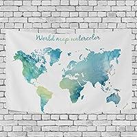 タペストリー 世界地図 喫茶店 カフェ 飾り用 装飾用 インテリア 壁飾り 多機能 個性 壁掛け 模様替え 人気 飾り付け 装飾 飾り付けセット 装飾用品 壁画 キャンバス 印刷アートポスター おしゃれ