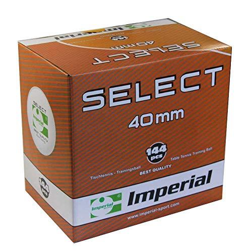 Imperial Select (144er|weiß) - Tischtennis Ball | Tischtennis Bälle | Trainingsbälle | Celluloid | TT-Spezial - Schütt Tischtennis