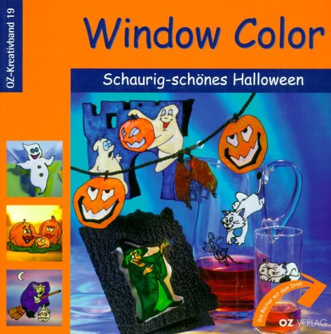 Window Color Schaurig-schönes Halloween (OZ-Kreativband)