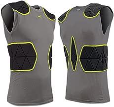 FJU6 Champro TRI-Flex Compression Shirt CH Charcoal Youth Large