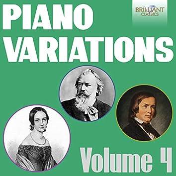 Piano Variations, Vol. 4 (Schumann-Wieck, Schumann & Brahms)