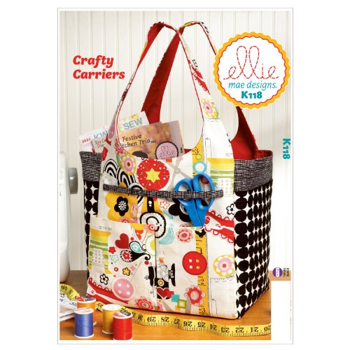 Kwik Sew K0118 Crafty Carriers Sewing Pattern, One Size Only