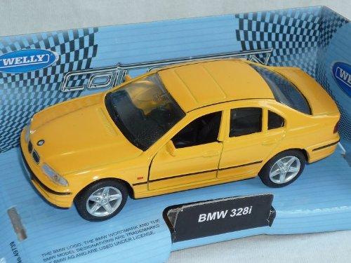 B-M-W 3er 3 Er 328i 328 i E46 Limousine Gelb 1998-2007 Ca 1/43 1/36-1/46 Welly Modellauto Modell Auto
