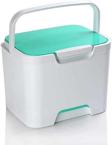 GUO Médecine Accueil plastique multicouche armoire empilable trousse de premiers soins portable