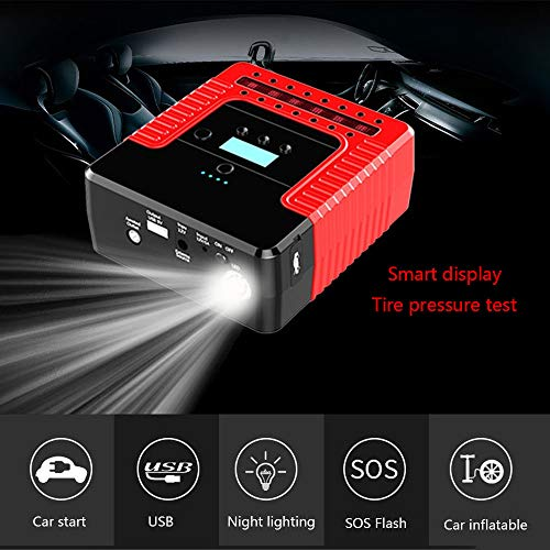 12V Auto starthulp Power Pack auto accu booster met Smart Jumper kabel