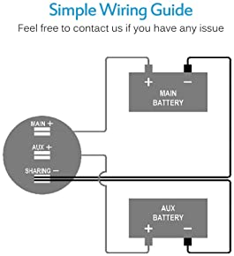 Explore battery gauges for boat | Amazon.com | Battery Voltage Meter Wiring Diagram For |  | Amazon.com