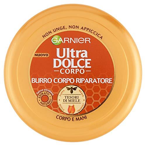 Garnier Ultra Dolce Corps Tesori de miel Beurre réparateur, 200 ml