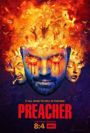 Preacher – U.S TV Series Wall Poster Print - 30cm x 43cm / 12 Inches x 17 Inches