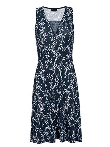 Vive Maria Broadway Dress Kleid dunkelgrau Allover-Print, Größe:XS
