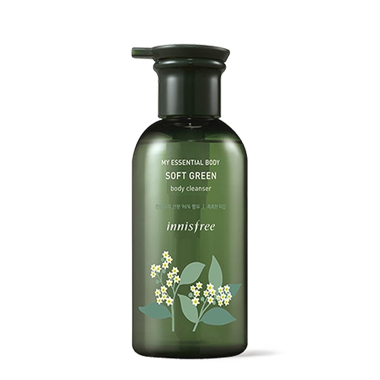 雲賞賛涙イニスフリーマイエッセンシャルボディソフトグリーンボディクレンザー330ml / Innisfree My Essential Body Soft Green Body Cleanser 330ml [並行輸入品][海外直送品]