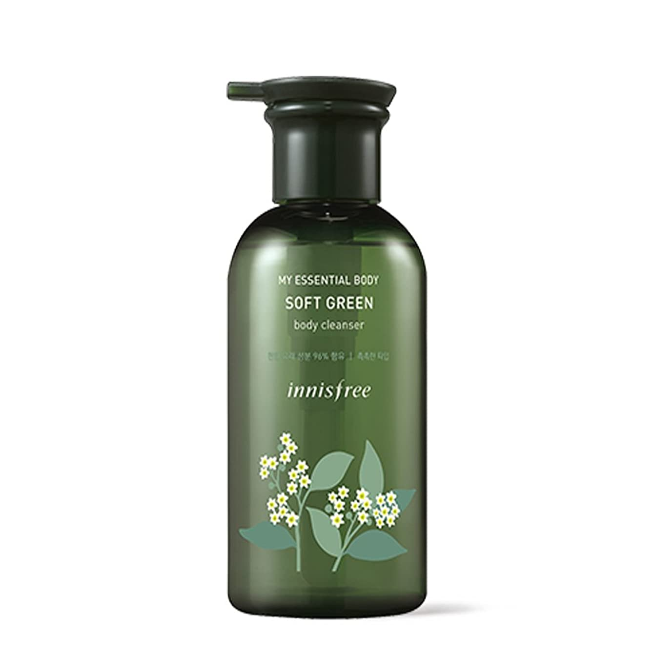 フック結婚式政治イニスフリーマイエッセンシャルボディソフトグリーンボディクレンザー330ml / Innisfree My Essential Body Soft Green Body Cleanser 330ml [並行輸入品][海外直送品]