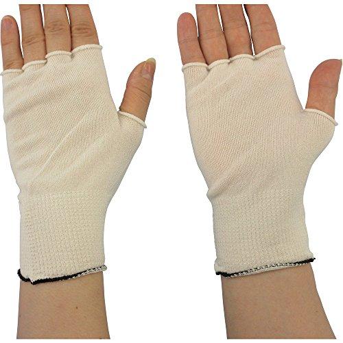 マックス 快適インナー指無し手袋 Lサイズ (10双入) MX388L