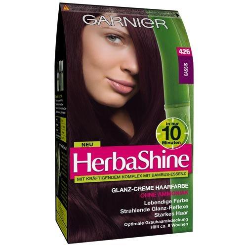 Garnier HerbaShine Glanz-Creme Haarfarbe, 426 cassis, 1er Pack (1 x Stück)