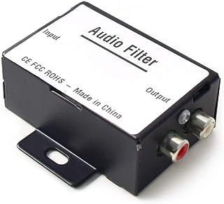自動車用オーディオノイズアイソレーションフィルタ ラジオノイズキャンセラ 自動車 トラック ボート スピーカー アンプ イコライザー RCA信号に最適
