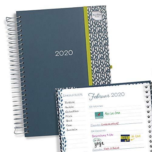 Boxclever Press Lebensplaner 2020. Kalender 2020 für ein beschäftigtes Leben. Terminplaner 2020 mit Wochenansicht & vielen Funktionen für mühelose Organisation. Ab sofort nutzbar bis Dezember 2020