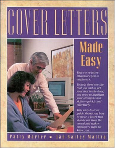 Cover Letters Made Easy (VGN career horizons titles)