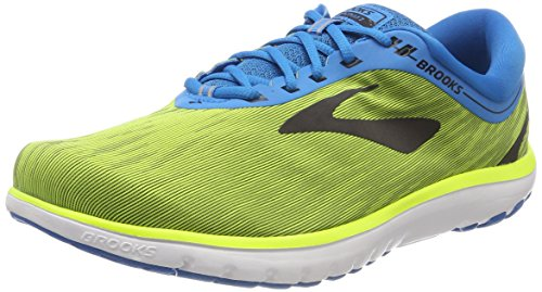 Brooks Mens PureFlow 7 - Nightlife/Blue/Black - D - 7.5