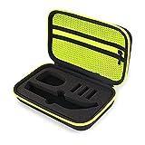 LEILEI Stlei Store Caja de afeitadora portátil Ajuste para OneBlade Trimmer and Accessories EVA Bolsa de Viaje Zipper Storage Pack Box Fit para Pro QP150 / QP6520 / QP6510 19QE (Color : BKGN2)