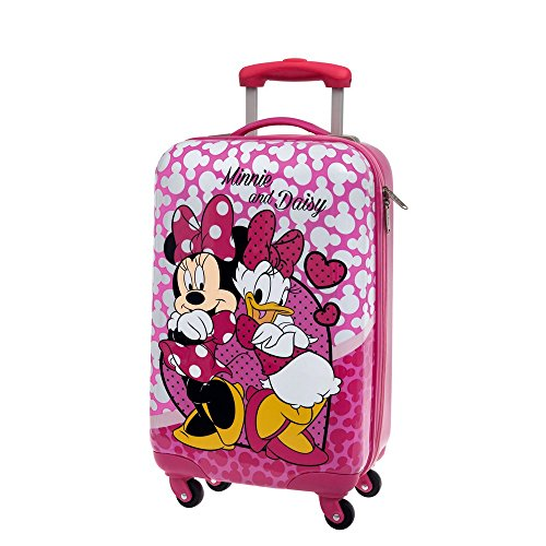 Disney Minnie et Daisy Nice Day Bagage Cabine, 55 cm, 36.29 L, Rose