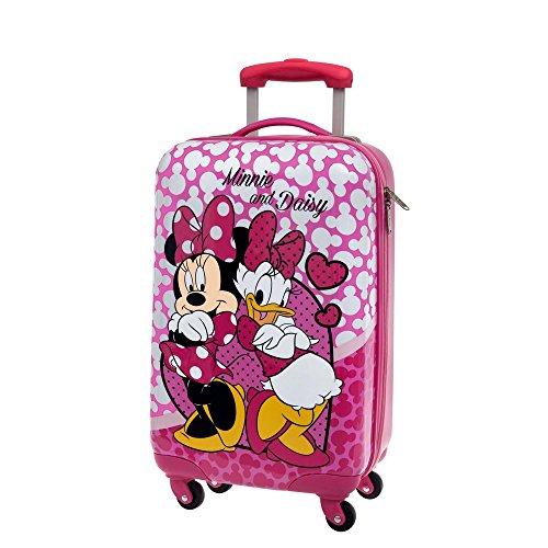 Disney Minnie et Daisy Nice Day Bagage Cabine, 55 cm, 36.29 L, Rose