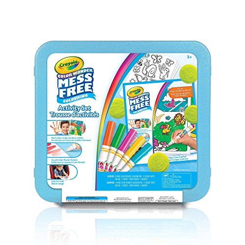 Crayola Color Wonder Mess Free Art Kit, Mess Free Colouring, Washable, No Mess, for Girls and Boys, Gift for Boys...
