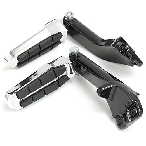 C-FUNN Achterkant Gestroomlijnde Pedaal Voet Peg Montagebeugel Voor Harley Super Dyna 2006-2017