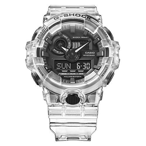 G-Shock GA700SKE-7A Transparente/Negro Talla única