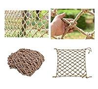 ガーデンネット、麻縄安全ネット、子供用落下防止ネット、アウトドアスポーツフェンスネット、階段バルコニーネット、登山ネット、飾りネット、5x8m (Size : 1*2m)