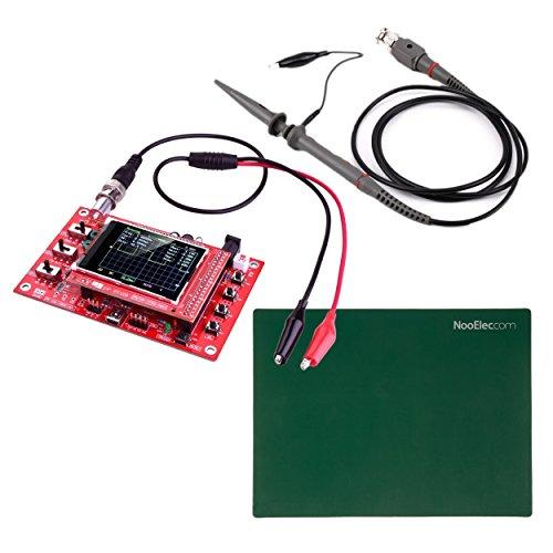 JYETech \'DSO 138\' Oszilloskop DIY Kit mit 100MHz Sonde, Clip Probe & ESD-Safe Silikon Matte