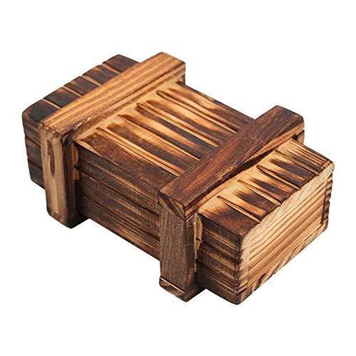 Lunch Boxes Japanese Doble Layer Natural Wood Vintage Style Lunch Contenedores de Comida para ni/ños Picnic para Adultos Oficina Escuela Senderismo Camping. Hakeeta Bento Box