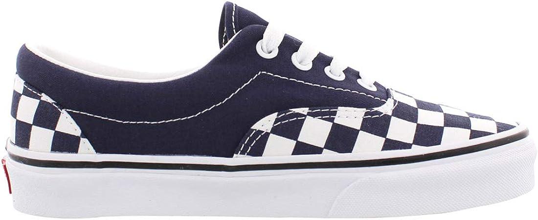 Vans Chaussures Era Checker Bleu Marine