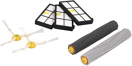 iRobot Originalteile - Roomba 800 und 900 Serie Nachfüllsatz -3 Hochleistungsfilter, 2 Seitenbürsten und 1 Set der Multibo...